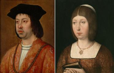 الملك فيرناندو والملكة ايزابيلا